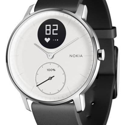 Chytré hodinky Nokia Steel HR (36mm) bílé (HWA03-36white-All-Inter)