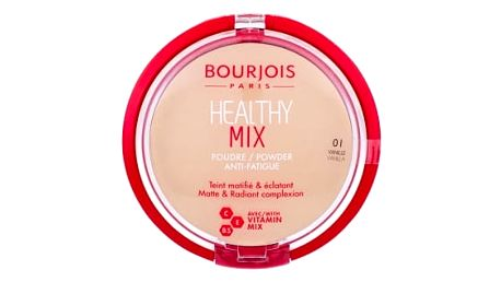 BOURJOIS Paris Healthy Mix Anti-Fatigue 11 g pudr pro ženy 01 Vanilla