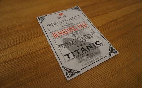 Úniková hra Titanic Praha