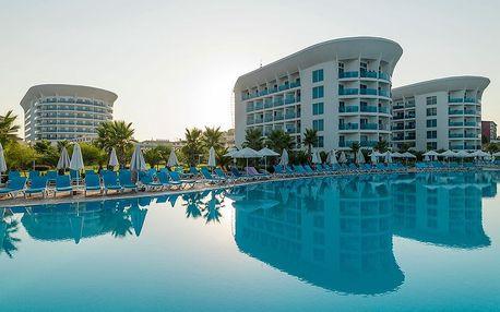 Turecko - Turecká Riviéra na 8 dní, all inclusive s dopravou letecky z Prahy přímo na pláži