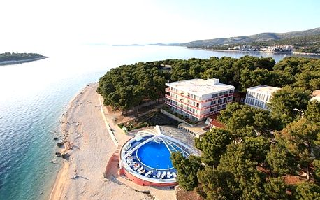 Chorvatsko - Primošten na 8 až 11 dní, polopenze nebo snídaně s dopravou vlastní 50 m od pláže