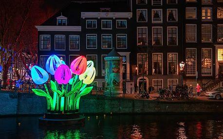 4denní zájezd na adventní festival světel v Amsterdamu