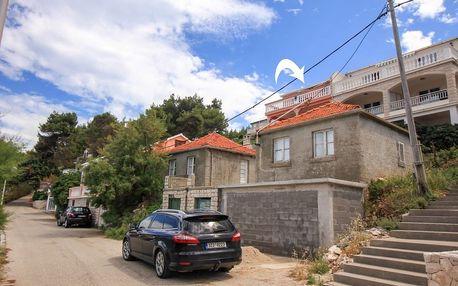 Chorvatsko - Korčula na 8 dní, bez stravy s dopravou vlastní 50 m od pláže