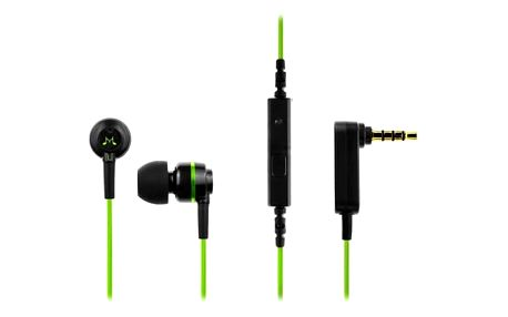 Sluchátka SoundMAGIC ES18S černá/zelená (SM ES18S GREEN)