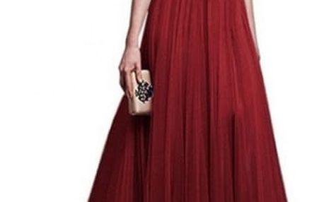 Společenské šaty s tříčtvrtečním rukávem - 8 barev