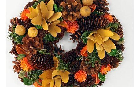 Podzimní věnec Couleur, pr. 26 cm