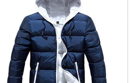 Pánská zimní bunda s kapucí - 5 barev