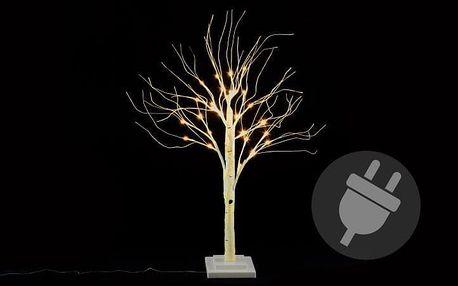 Nexos 41678 Dekorativní strom bříza 70 cm - 30 LED teplá bílá