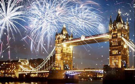 Oslavujte královsky SILVESTR v Londýně! 4-denní zájezd s ubytováním, včetně trajektu