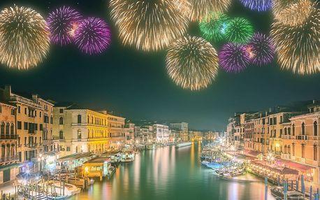 Silvestr v Benátkách na 4 dny s ubytováním