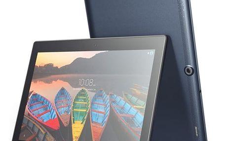 Dotykový tablet Lenovo TAB3 10 Plus modrý + dárek (ZA0X0218CZ)