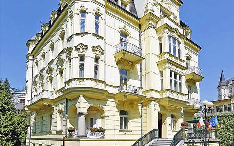 Karlovy Vary rekreačně ve 4* hotelu se speciálními wellness procedurami pro muže i ženy a polopenzí