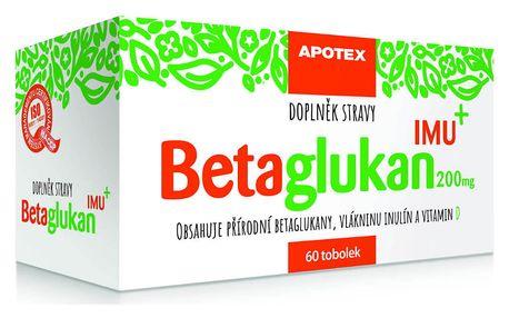 GYNPHARMA Betaglukan IMU 200 mg 60 tobolek