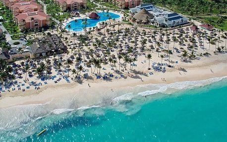 Dominikánská republika - Punta Cana na 9 dní, all inclusive s dopravou letecky přímo na pláži