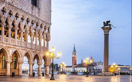 Pobyt v romantických Benátkách v příjemném 4* hotelu