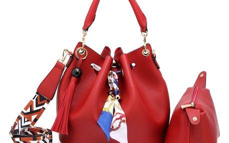 Dámská červená kabelka Tanya 615