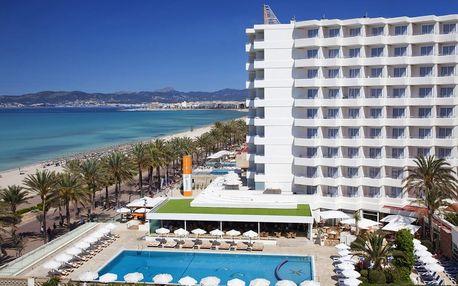 Španělsko - Mallorca na 8 dní, all inclusive, polopenze nebo snídaně s dopravou letecky z Prahy přímo na pláži