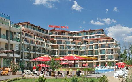 Bulharsko - Primorsko na 8 dní, all inclusive s dopravou letecky z Prahy 50 m od pláže