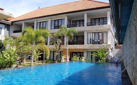 Bali - Sanur na 10 až 13 dní, snídaně s dopravou letecky z Prahy 200 m od pláže