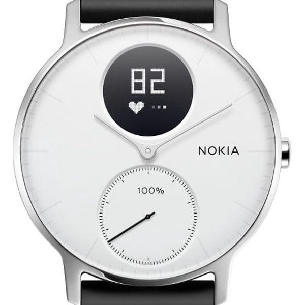 Chytré hodinky Nokia Steel HR (36mm) (HWA03-36white-All-Inter) bílé2
