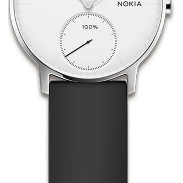 Chytré hodinky Nokia Steel HR (36mm) (HWA03-36white-All-Inter) bílé3