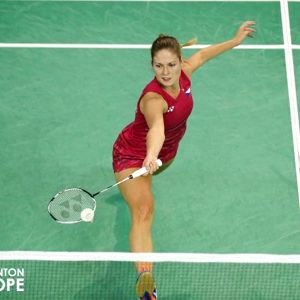 Badminton s mistryní ČR