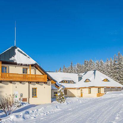 Zimní prázdniny na Šumavě na 7 nocí