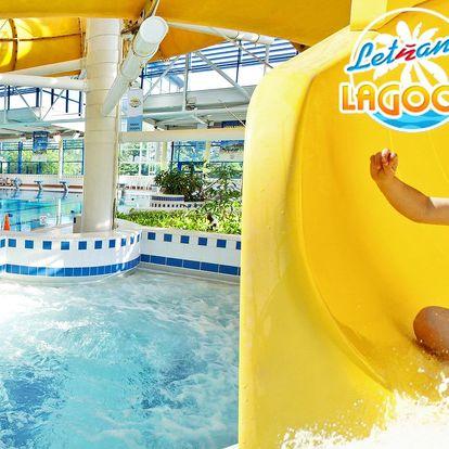 Vstup do aquaparku v Letňanech pro děti i dospělé