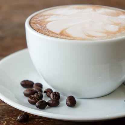 Cappuccino nebo Latté s koláčem nebo bez