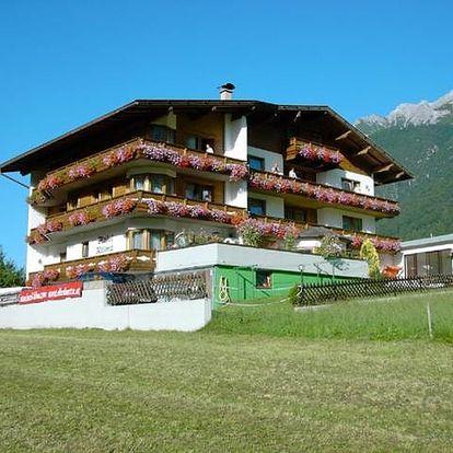 Rakousko - Stubaital na 4 dny, polopenze s dopravou vlastní