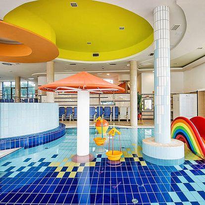 Slavné termální lázně Sárvár v hotelu s polopenzí + varianty s celodenním vstupem do termálů