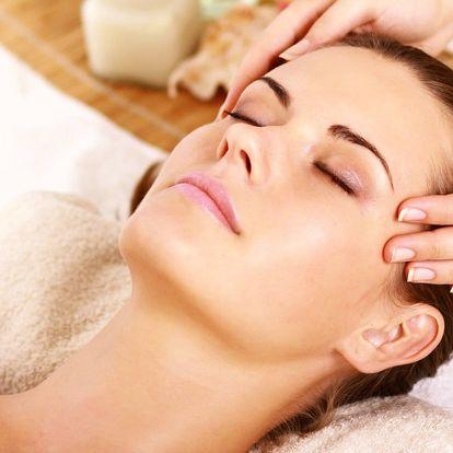 Masáže obličeje, lifting obličeje či indická masáž