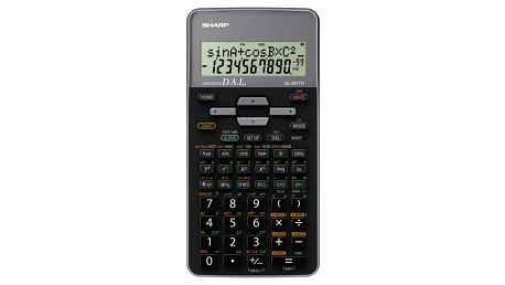 Kalkulačka Sharp EL-531THGY černá/šedá (EL531THGY)