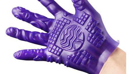 Erotická hračka - sexuální rukavice se stimulačními výstupky