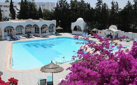 Tunisko - Hammamet na 8 až 16 dní, all inclusive s dopravou letecky z Prahy 200 m od pláže