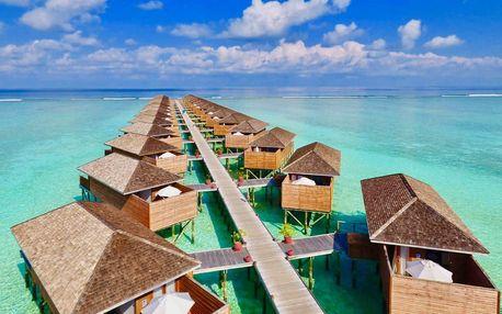 Maledivy - Severní Atol Male na 10 dní, all inclusive nebo plná penze s dopravou letecky z Prahy přímo na pláži