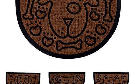 Rohož guma/kokosové vlákno 60x40 cm