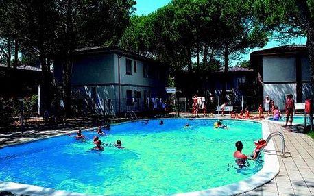 Itálie - Bibione na 6 až 8 dní, bez stravy s dopravou vlastní 400 m od pláže
