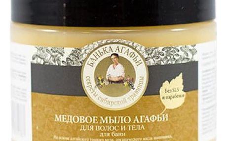 Altajské medové mýdlo na vlasy a tělo 300 ml