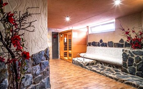 Vysoké Tatry v horském hotelu Lesana *** s neomezeným wellness a polopenzí