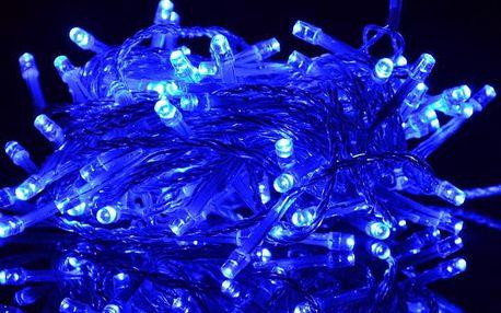Nexos 809 Vánoční LED osvětlení 18 m - modré, 200 diod