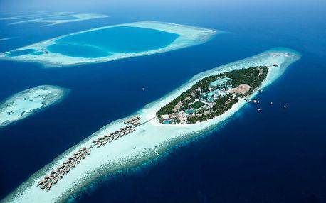 Maledivy - Atol Ari na 10 dní, all inclusive nebo plná penze s dopravou letecky z Prahy přímo na pláži