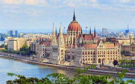 Maďarsko - Budapest na 2 dny, snídaně s dopravou autobusem