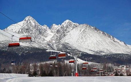 Vysoké Tatry s wellness a dětským centrem