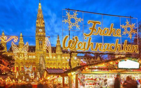 Adventní Vídeň s možností zastávky v Primarku