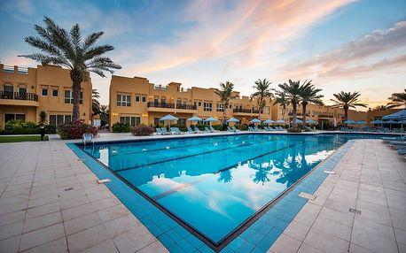 Spojené arabské emiráty - Ras Al Khaimah na 5 dní, all inclusive nebo snídaně s dopravou letecky z Prahy 300 m od pláže