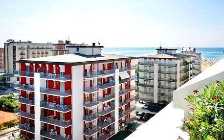 Itálie - Bibione na 6 až 8 dní, bez stravy s dopravou vlastní 30 m od pláže