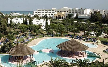 Tunisko - Hammamet na 8 dní, all inclusive s dopravou letecky z Prahy 200 m od pláže