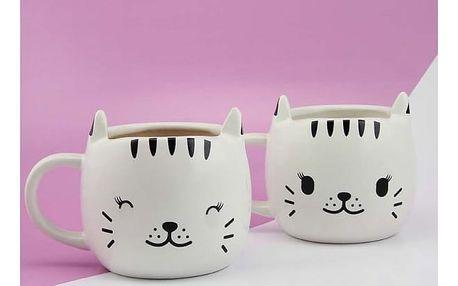 Měnící hrníček kočička - Happy Cat