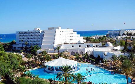 Tunisko - Hammamet na 8 až 16 dní, all inclusive s dopravou letecky z Prahy 40 m od pláže